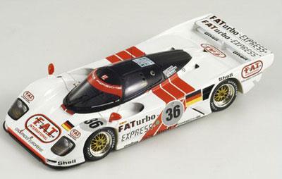 Baldi/Dalmas/Haywood, Porsche Le Mans 24H 1994 Winner #36